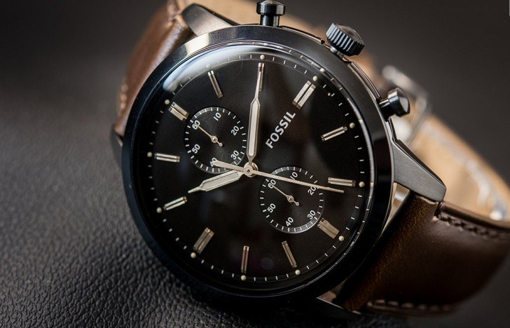 Đồng hồ thời trang Fossil FS5437 tích hợp tính năng Chronograph - Ảnh 1