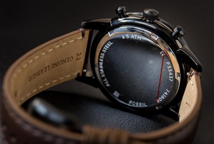 Đồng hồ thời trang Fossil FS5437 tích hợp tính năng Chronograph - Ảnh 3