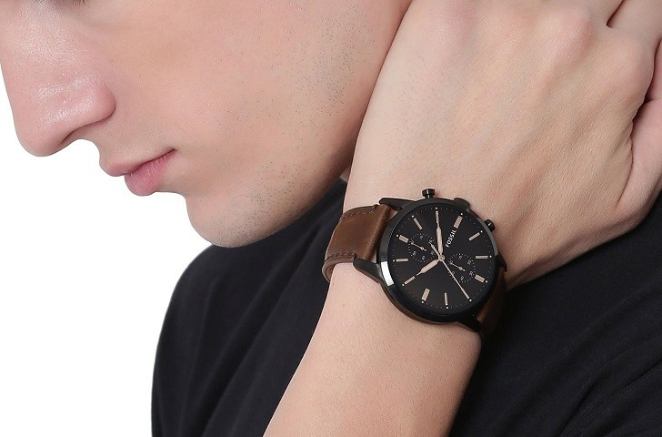 Đồng hồ thời trang Fossil FS5437 tích hợp tính năng Chronograph - Ảnh 6
