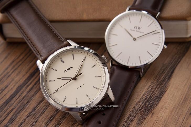 Đồng hồ Fossil FS5439: Trưởng thành, lịch lãm trong thiết kế - Ảnh 6