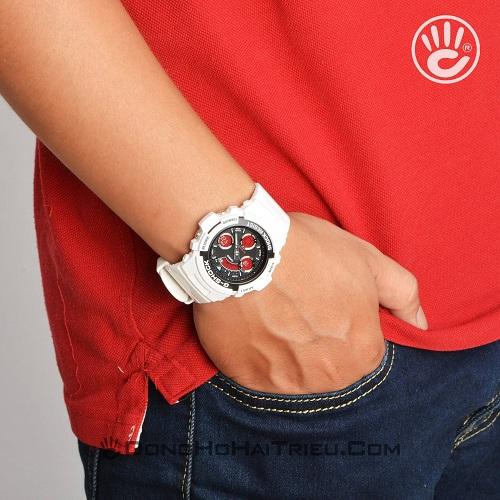 G-Shock AW-591SC-7ADR: Hướng Dẫn Chỉnh Giờ, Bật Auto Light - 1