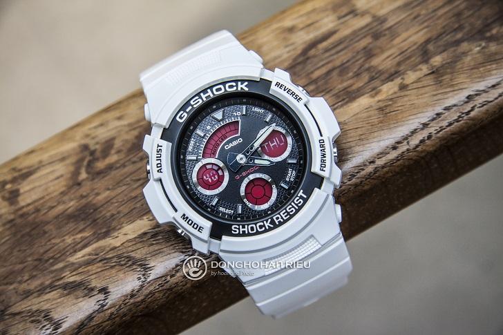 G-Shock AW-591SC-7ADR: Hướng Dẫn Chỉnh Giờ, Bật Auto Light - 2