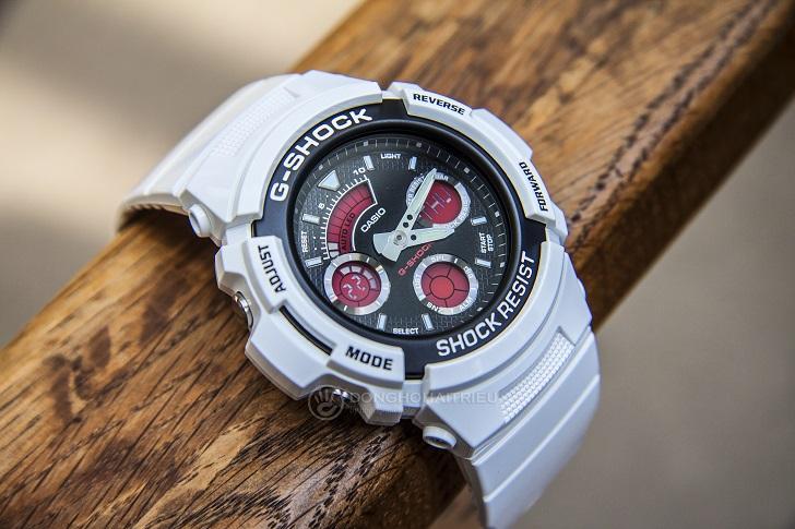 G-Shock AW-591SC-7ADR: Hướng Dẫn Chỉnh Giờ, Bật Auto Light - 5