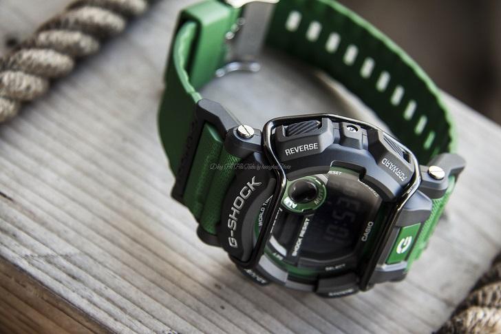 """G-Shock GD-400-3DR Sở Hữu """"Bộ Sưu Tập"""" Chức Năng Ấn Tượng - 2"""