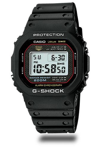 Lịch Sử Các Dòng Đồng Hồ G-Shock (Tóm Tắt Qua Năm Ra Mắt) 1983 DW-5000C