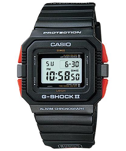 Lịch Sử Các Dòng Đồng Hồ G-Shock (Tóm Tắt Qua Năm Ra Mắt) 1985 DW-5500C