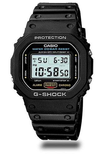 Lịch Sử Các Dòng Đồng Hồ G-Shock (Tóm Tắt Qua Năm Ra Mắt) 1987 DW-5600C