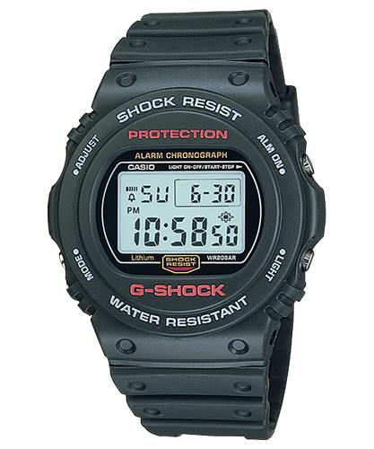Lịch Sử Các Dòng Đồng Hồ G-Shock (Tóm Tắt Qua Năm Ra Mắt) 1987 DW-5700