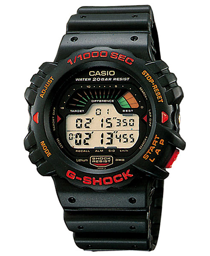 Lịch Sử Các Dòng Đồng Hồ G-Shock (Tóm Tắt Qua Năm Ra Mắt) 1990 DW-6000GJ