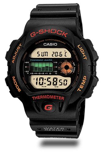 Lịch Sử Các Dòng Đồng Hồ G-Shock (Tóm Tắt Qua Năm Ra Mắt) 1990 DW-6100