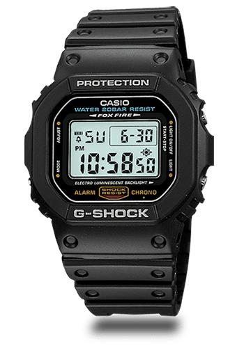 Lịch Sử Các Dòng Đồng Hồ G-Shock (Tóm Tắt Qua Năm Ra Mắt)  1996 DW-5600E