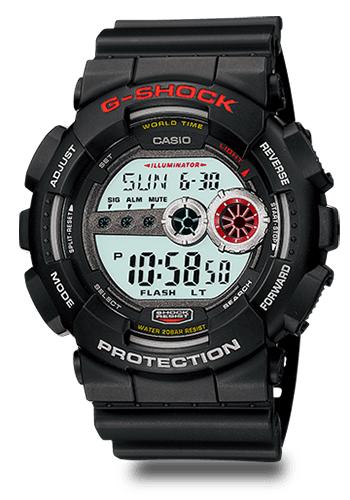 Lịch Sử Các Dòng Đồng Hồ G-Shock (Tóm Tắt Qua Năm Ra Mắt) 2010 GD-100