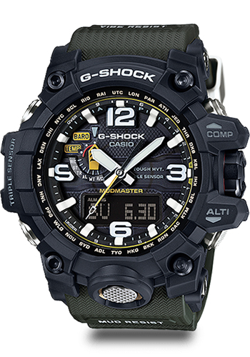 Lịch Sử Các Dòng Đồng Hồ G-Shock (Tóm Tắt Qua Năm Ra Mắt) 2015 GWG-1000