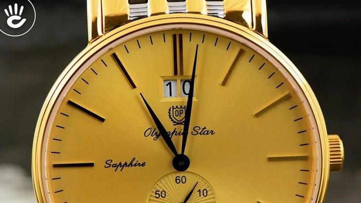 Đồng hồ Olym Pianus 58070MSK-V-04 Tông vàng nổi bật, hấp dẫn - Ảnh 6