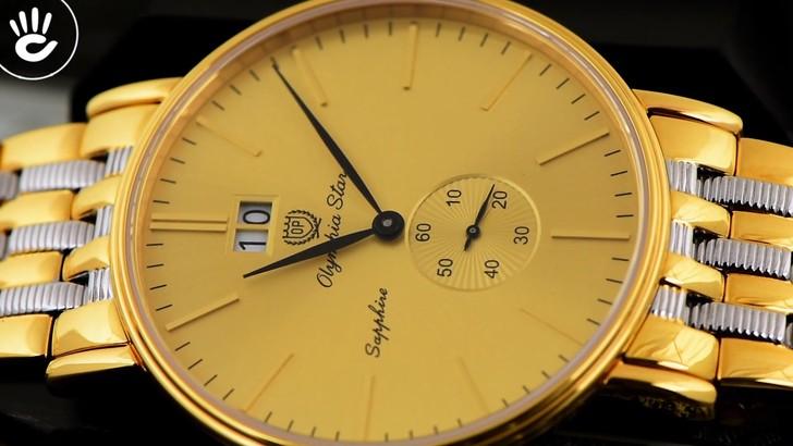 Đồng hồ Olym Pianus 58070MSK-V-04 Tông vàng nổi bật, hấp dẫn - Ảnh 7