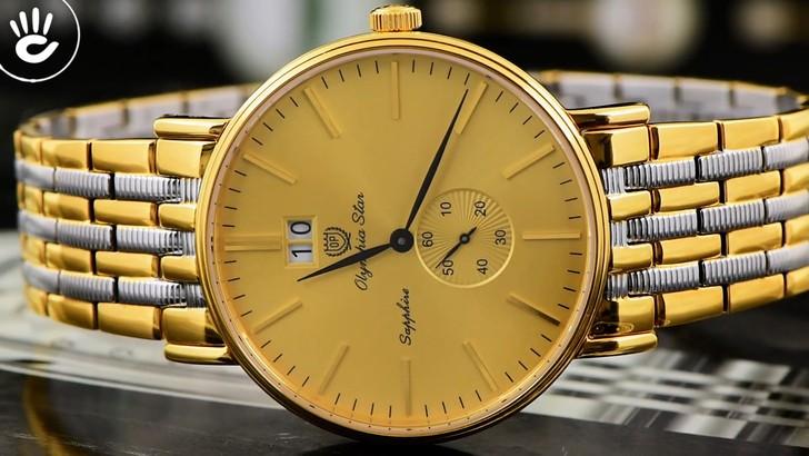 Đồng hồ Olym Pianus 58070MSK-V-04 Tông vàng nổi bật, hấp dẫn - Ảnh 3