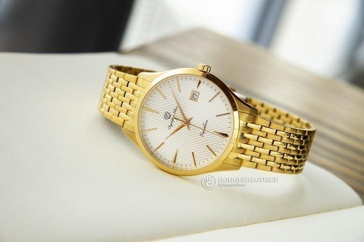 Đồng hồ Olym Pianus 58073MK-T giá rẻ, thay pin miễn phí - Ảnh 1
