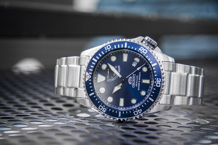 Đồng hồ Orient RA-EL0002L00B máy cơ, chống nước đến 20ATM - Ảnh 4