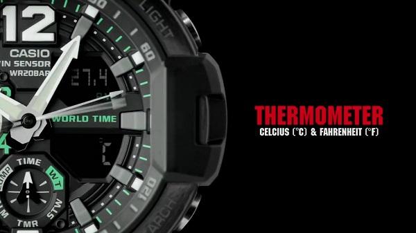 REVIEW Nhanh G-Shock GA-1100-1A3DR Cùng 2 Chức Năng Độc Đáo - 3