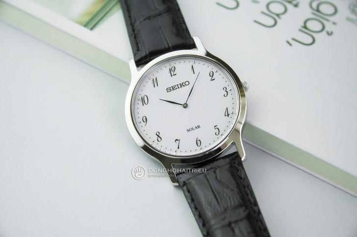 Đồng hồ Seiko SUP369P1 bộ máy năng lượng ánh sáng tự sạc - Ảnh 1
