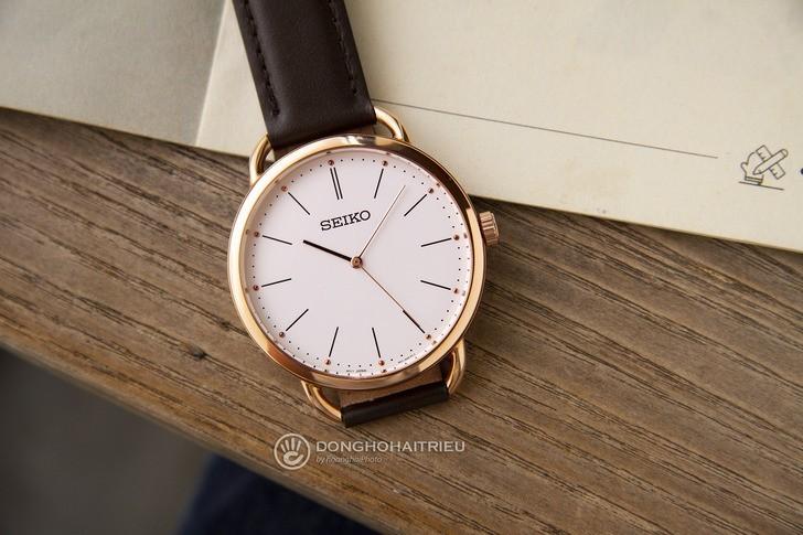 Đồng hồ Seiko SUR234P1 giá rẻ, thay pin miễn phí trọn đời - Ảnh 3