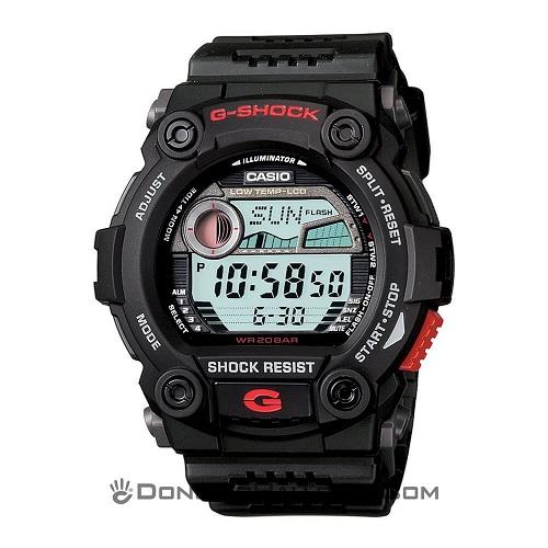 Series Đồng Hồ G-Shock G-7900: Giá Rẻ, Đa Năng, Đa Sắc Màu - G-Shock G-7900-1DR