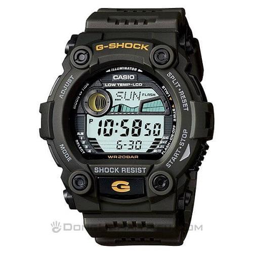Series Đồng Hồ G-Shock G-7900: Giá Rẻ, Đa Năng, Đa Sắc Màu - G-Shock G-7900-3DR