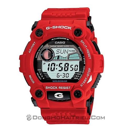 Series Đồng Hồ G-Shock G-7900: Giá Rẻ, Đa Năng, Đa Sắc Màu - G-Shock G-7900A-4DR