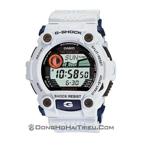 Series Đồng Hồ G-Shock G-7900: Giá Rẻ, Đa Năng, Đa Sắc Màu - G-Shock G-7900A-7DR