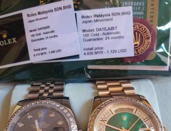 Thực Hư Đồng Hồ Rolex Malaysia Là Gì, Hàng Miễn Thuế Hay Hàng Giả 4