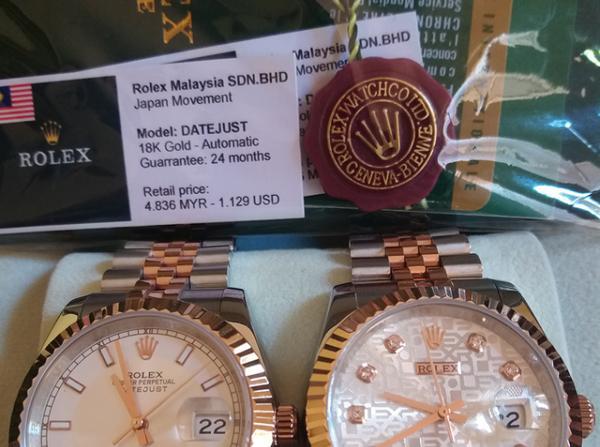Thực Hư Đồng Hồ Rolex Malaysia Là Gì, Hàng Miễn Thuế Hay Hàng Giả