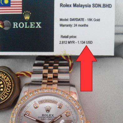 Thực Hư Đồng Hồ Rolex Malaysia Là Gì, Hàng Miễn Thuế Hay Hàng Giả 3