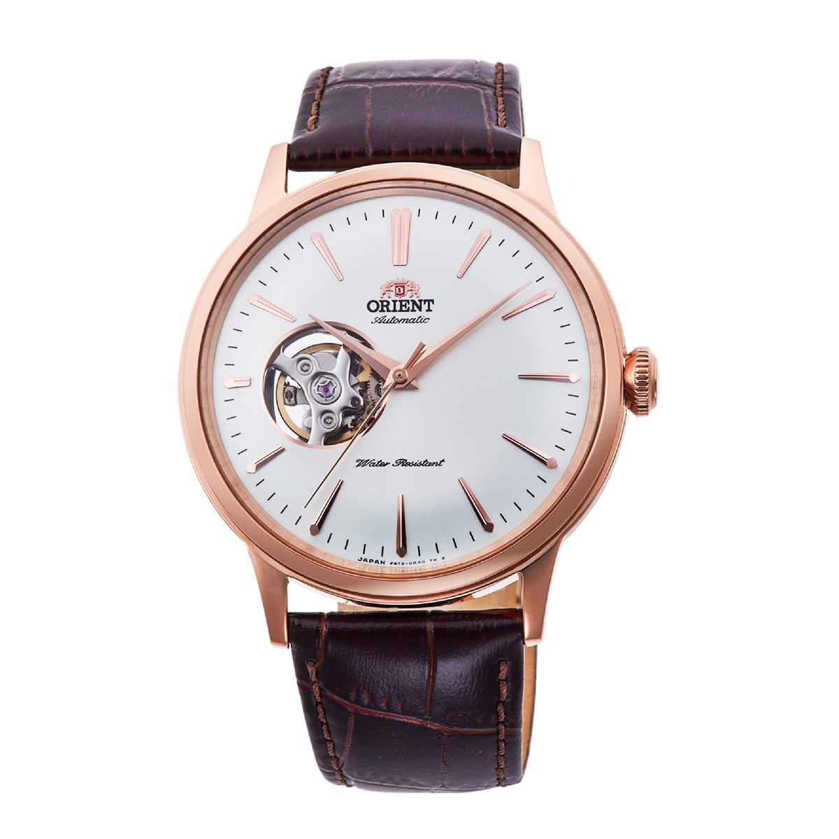 Top 15 đồng hồ Open Heart từ 3 hãng hàng đầu Nhật Bản - Ảnh: Orient RA-AG0001S10B