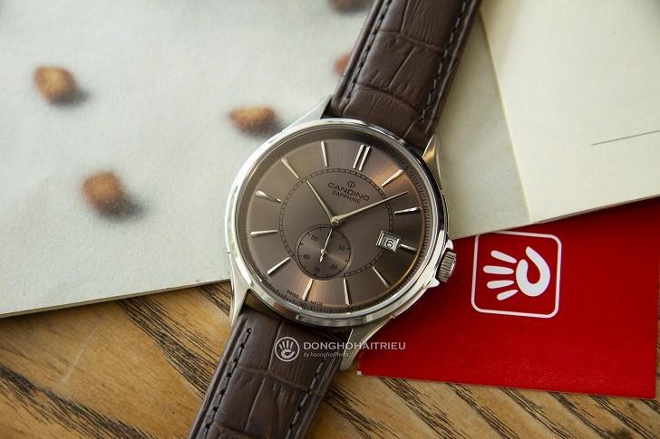 Đồng hồ Candino C4634/3 kính sapphire máy Thụy Sỹ giá tốt - Ảnh 4