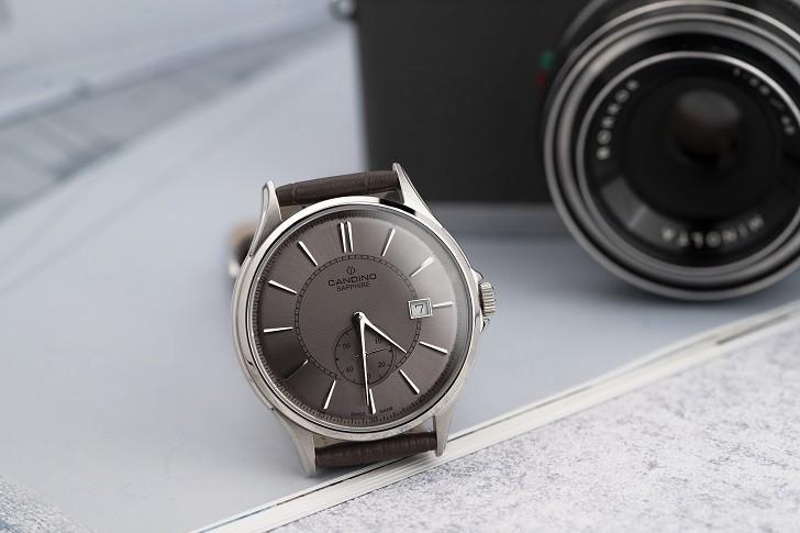 Đồng hồ Candino C4634/3 kính sapphire máy Thụy Sỹ giá tốt - Ảnh 6