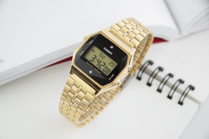 Đồng hồ Casio A159WGED-1DF rẻ, thay pin trọn đời miễn phí - Ảnh 2
