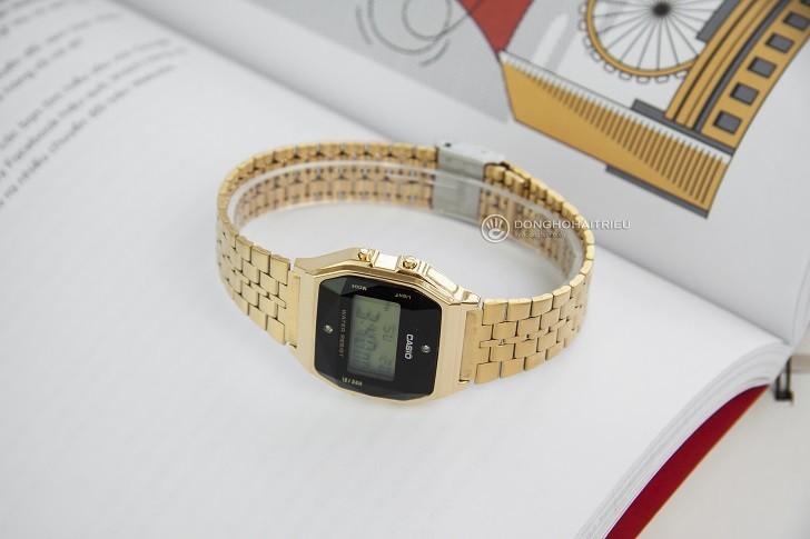 Đồng hồ Casio A159WGED-1DF rẻ, thay pin trọn đời miễn phí - Ảnh 3