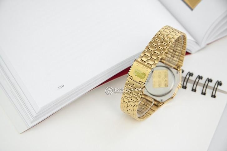 Đồng hồ Casio A159WGED-1DF rẻ, thay pin trọn đời miễn phí - Ảnh 5