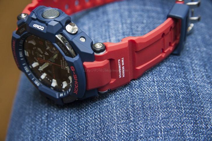 Casio G-Shock GA-1100-2ADR Độc Đáo Với Tính Năng Giờ Kép - 2