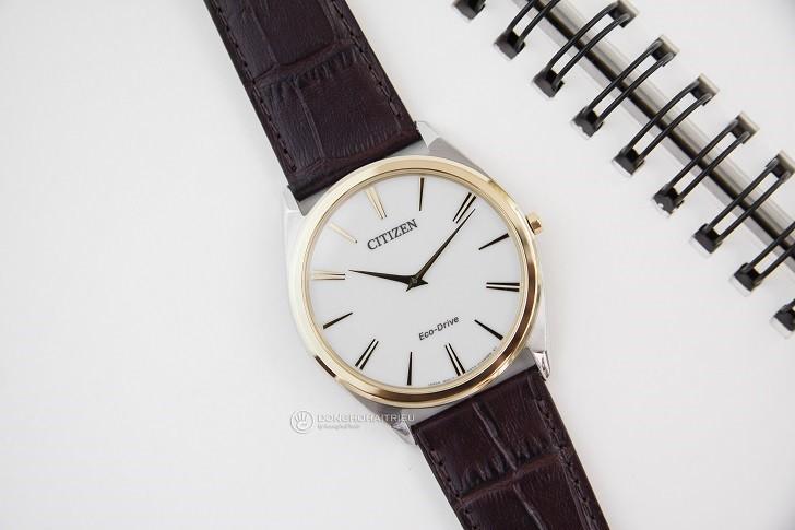 Đồng hồ nam Citizen AR3074-03A bộ máy năng lượng ánh sáng - Ảnh 5