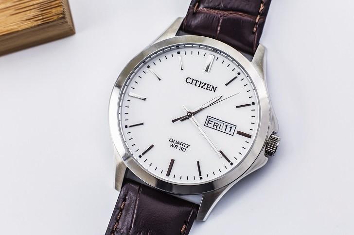 Đồng hồ nam Citizen BF2001-12A giá rẻ, thay pin miễn phí - Ảnh 1
