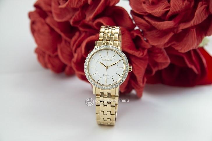 Đồng hồ nữ Citizen EL3042-84A giá rẻ, thay pin miễn phí - Ảnh 1