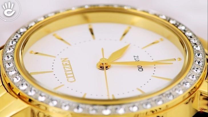 Đồng hồ nữ Citizen EL3042-84A giá rẻ, thay pin miễn phí - Ảnh 2