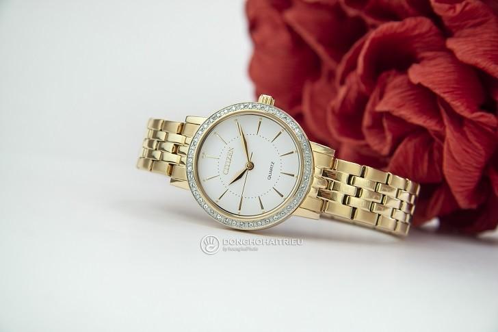 Đồng hồ nữ Citizen EL3042-84A giá rẻ, thay pin miễn phí - Ảnh 4