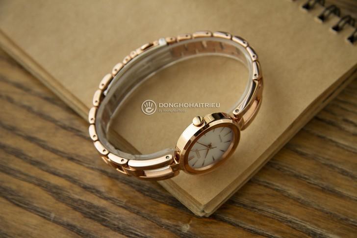 Đồng hồ Citizen EM0639-81A Mạ vàng sang trọng, pin bất tử - Ảnh 5