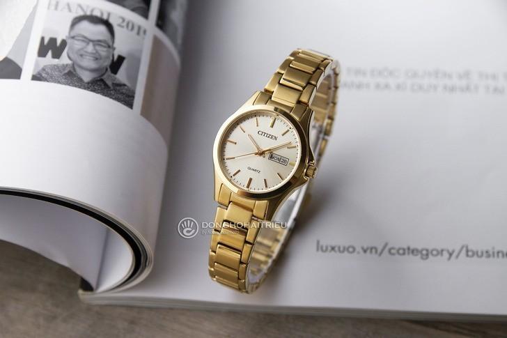 Đồng hồ nữ Citizen EQ0593-85P giá rẻ, thay pin miễn phí - Ảnh 1