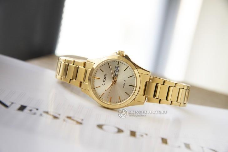 Đồng hồ nữ Citizen EQ0593-85P giá rẻ, thay pin miễn phí - Ảnh 2