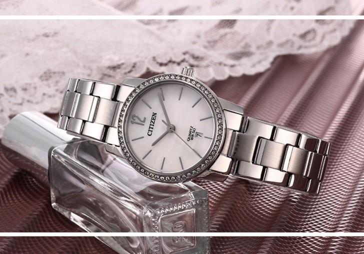 Đồng hồ nữ Citizen EU6063-81D giá rẻ, thay pin miễn phí - Ảnh 2