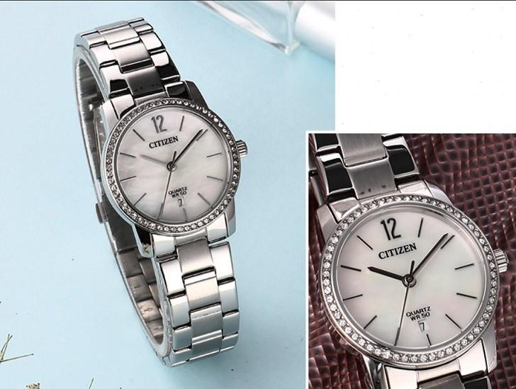 Đồng hồ nữ Citizen EU6063-81D giá rẻ, thay pin miễn phí - Ảnh 4