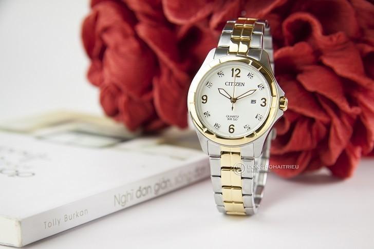 Đồng hồ nữ Citizen EU6084-57A giá rẻ, thay pin miễn phí - Ảnh 2